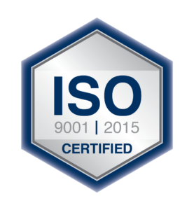 ISO Certified - 9001 | 2015